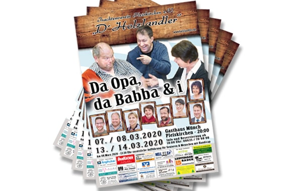 Theater-Flyer & Plakate