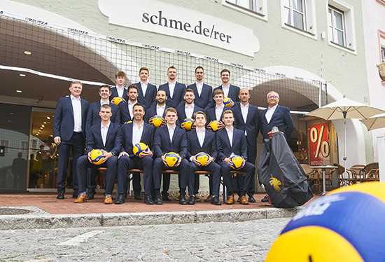 "Fotoshooting der ""2. Volleyball Bundesliga Süd 2020/2021"""