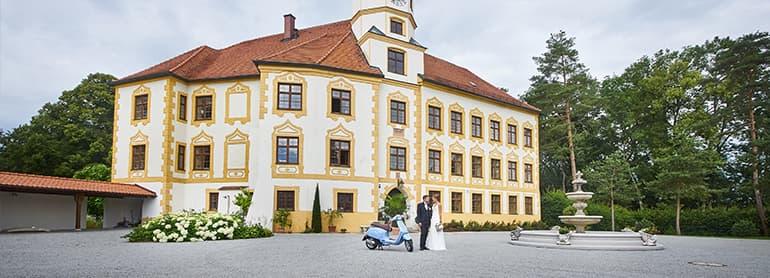 Paarshooting bei Schloß Klebing / Pleiskirchen