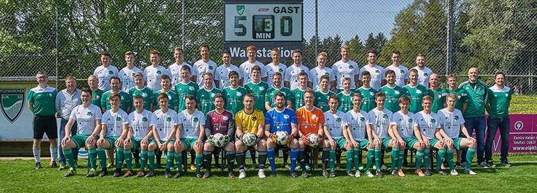 Fotoshooting Fussballverein