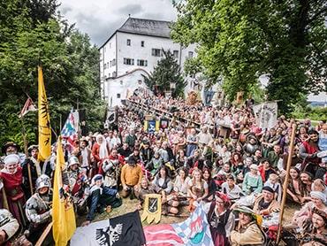 Gruppenfoto Ritterfest